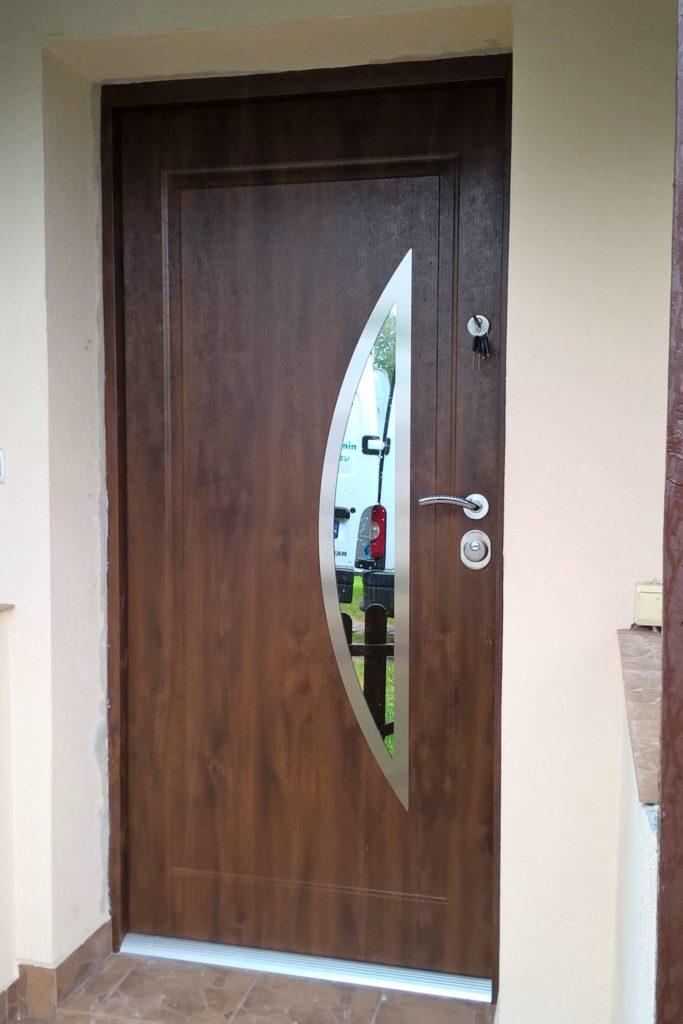 Drzwi Delta Rama łuk pionowy inox - FHU Tokarczyk