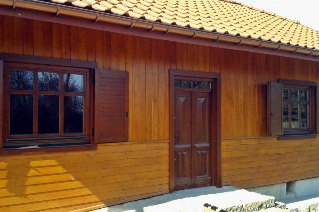 Okiennice z drewna - FHU Tokarczyk