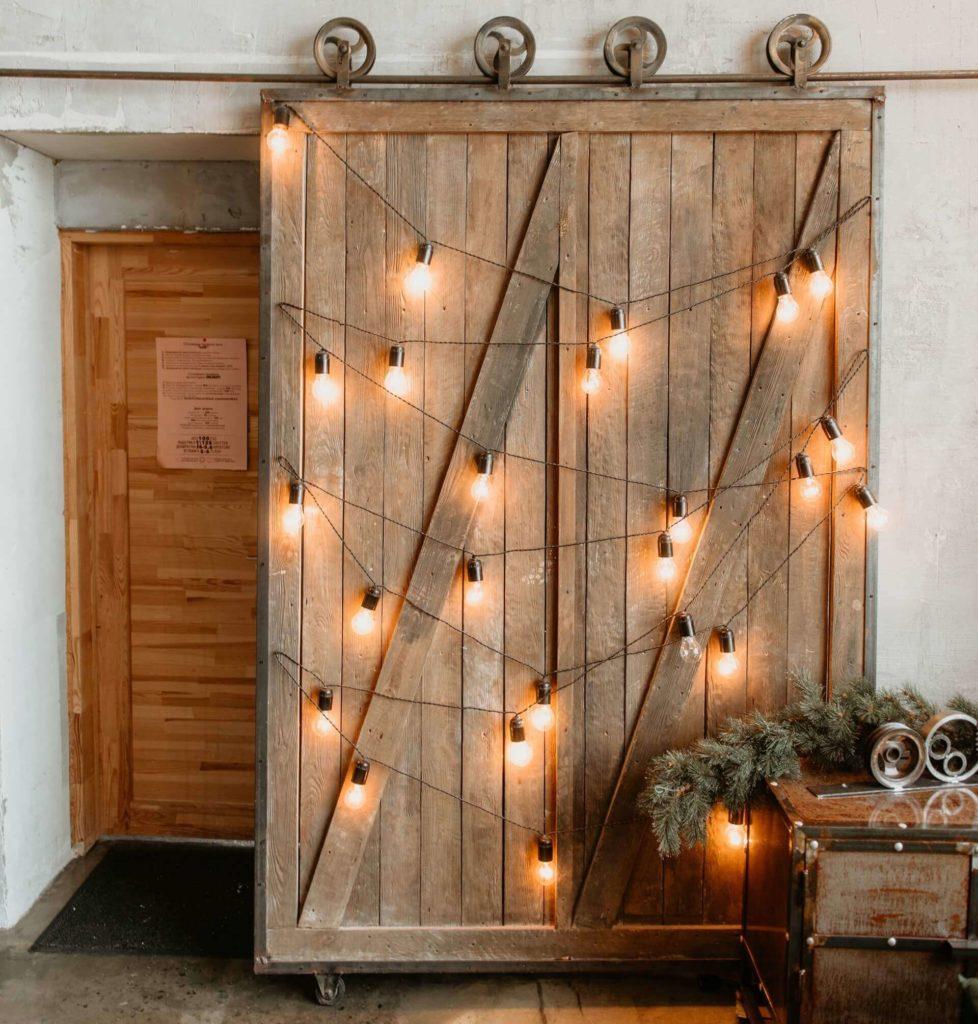 Drzwi przesuwne rustykalne - drzwi na zamówienie - FHU Tokarczyk