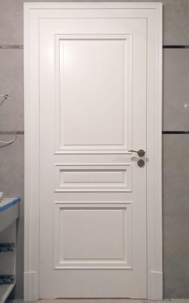 Białe drzwi wewnętrzne - FHU TOKARCZYK