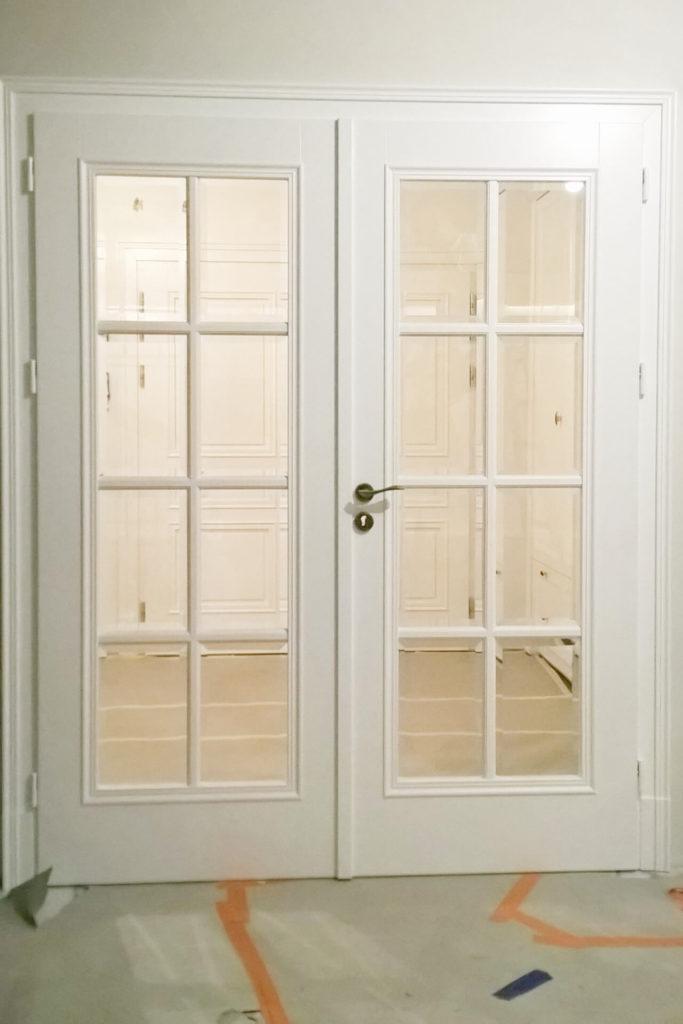 Drzwi dwuskrzydłowe z przeszkleniami - FHU TOKARCZYK