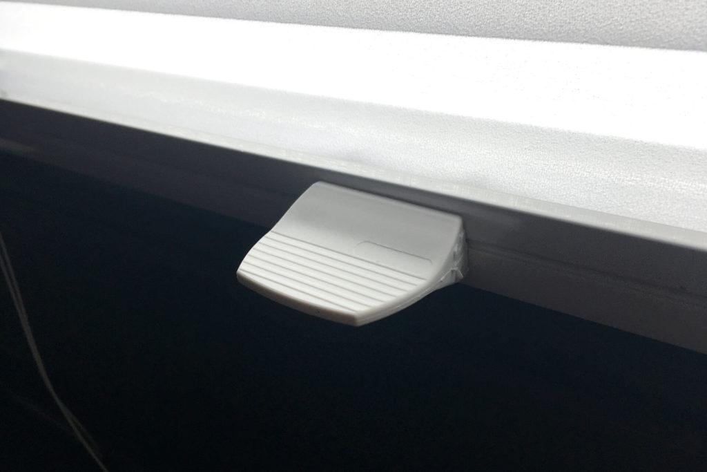 Wygodny uchwyt zapewnia płynną pracę plis okiennych - FHU Tokarczyk