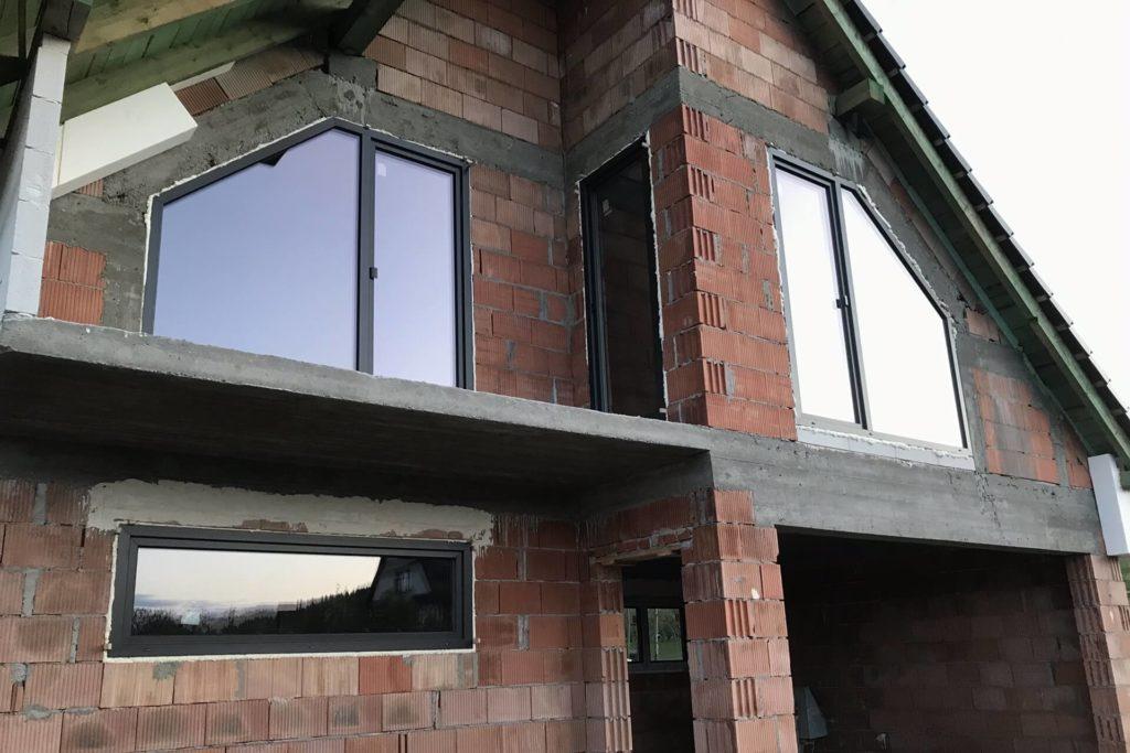Okna trapezowe plastikowe - FHU Tokarczyk