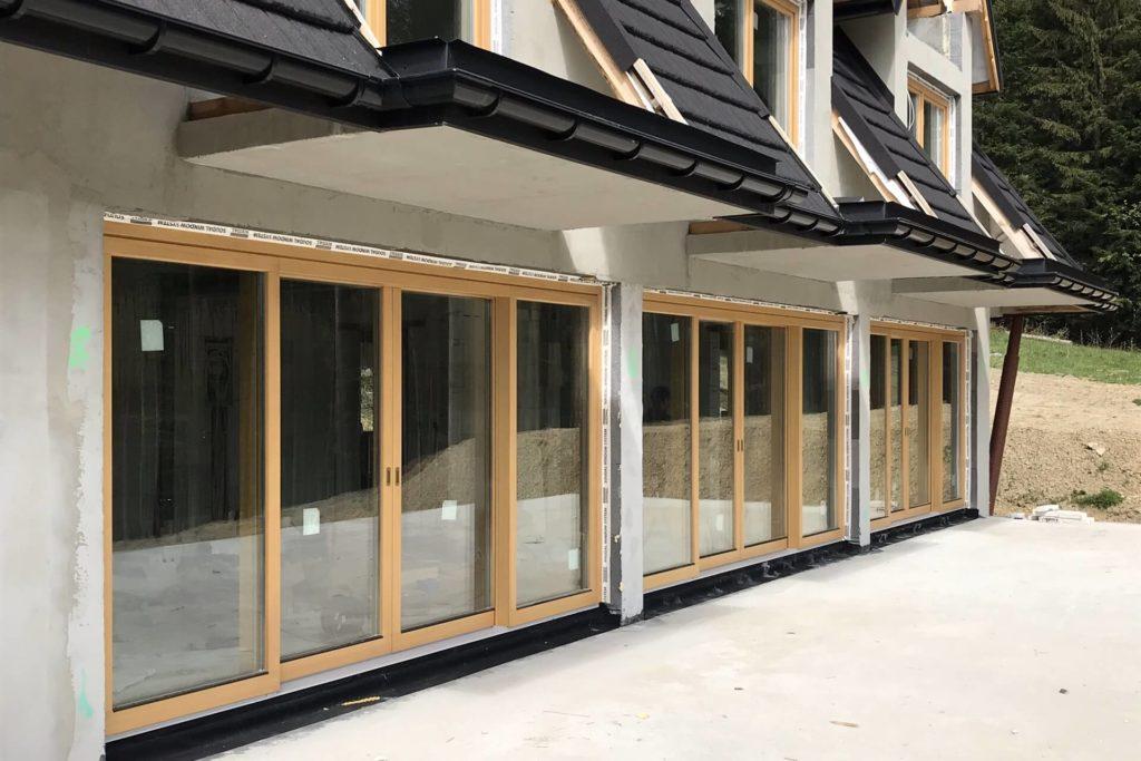Drewniane okna balkonowe HST - FHU Tokarczyk