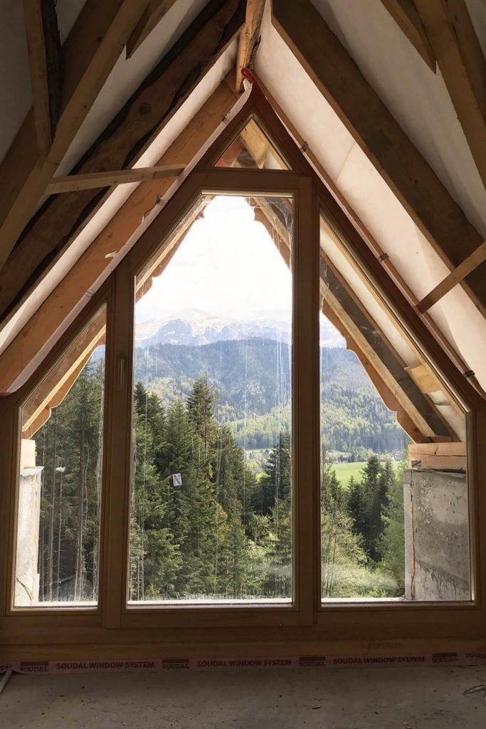 Drewniane okna trapezowe - FHU Tokarczyk