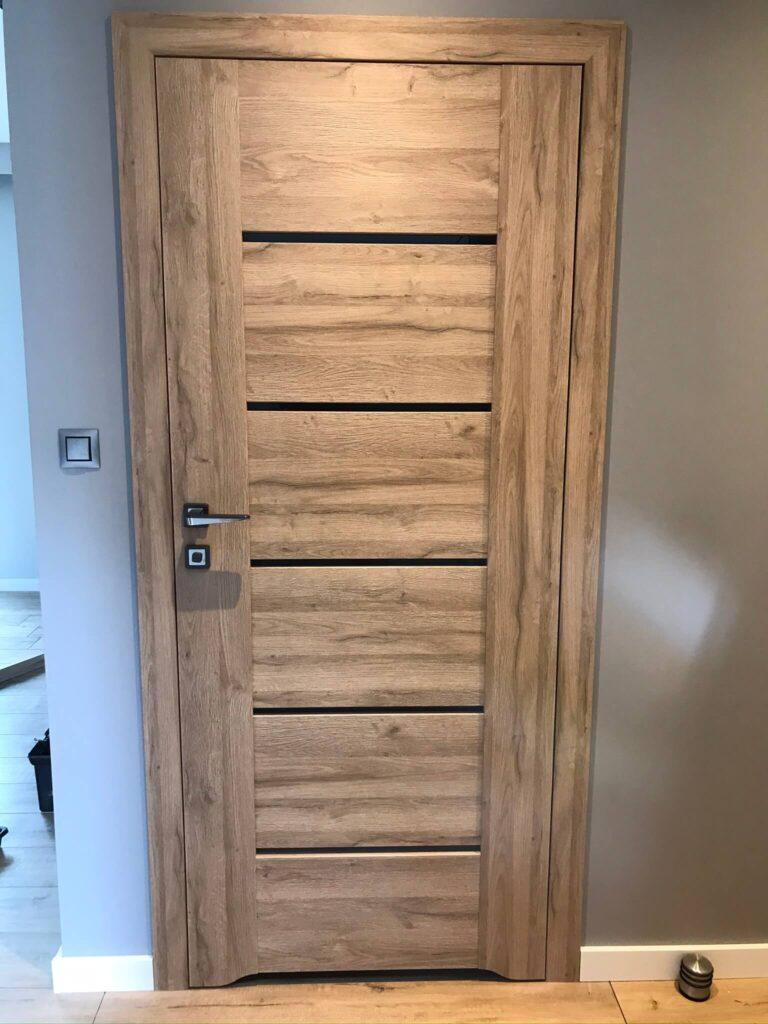 Drzwi Auri - montaż Tokarczyk dla Lavd Team