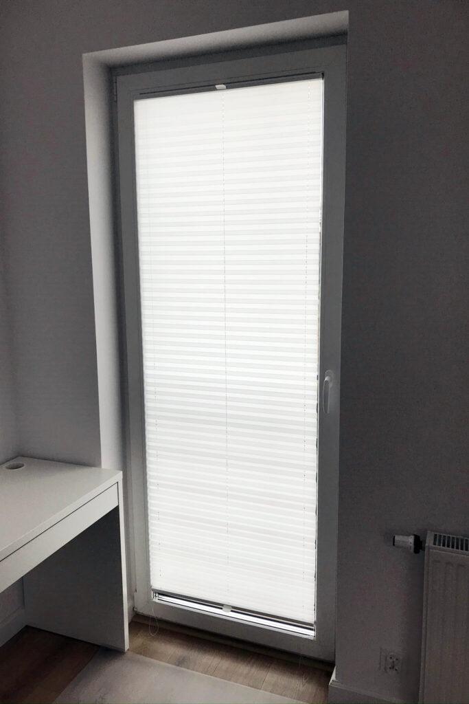 Plisy na okno balkonowe - FHU Tokarczyk
