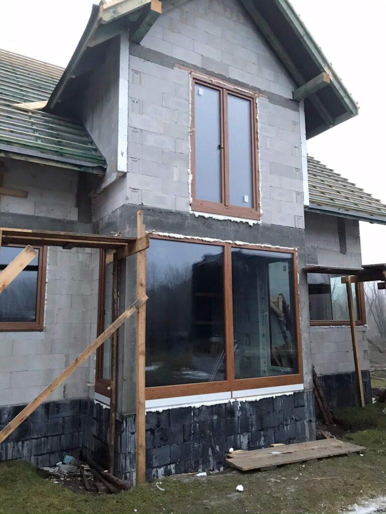 Okna-PCV-zdrewnopodobne-złoty-dąb-montaż-FHU-Tokarczyk-Limanowa