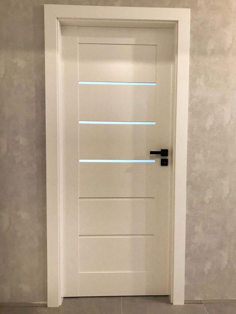 Białe drzwi wewnętrzne - FHU Tokarczyk Kraków