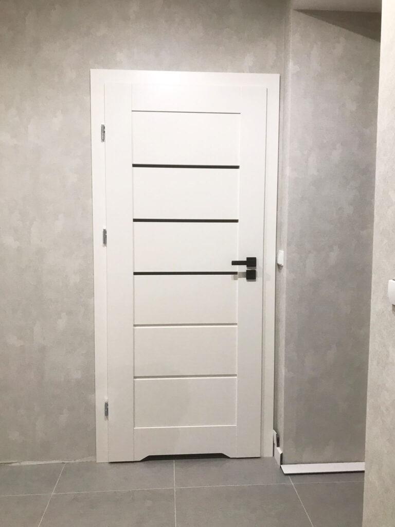 Drzwi Daglezja białe - FHU Tokarczyk Kraków