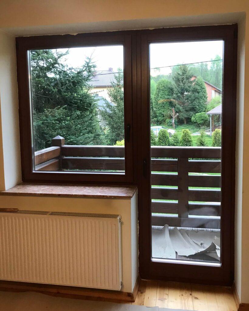 Okna balkonowe pasywne - Tokarczyk Kraków