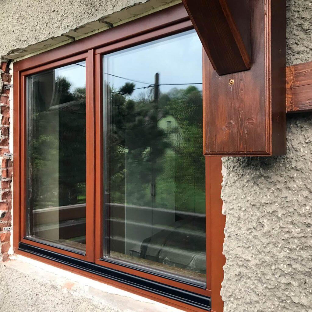 Okna drewniane Passiv 92 - montaż FHU Tokarczyk Kraków