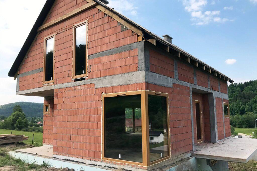 Okna PCV drewnopodobne - montaż FHU Tokarczyk Małopolska