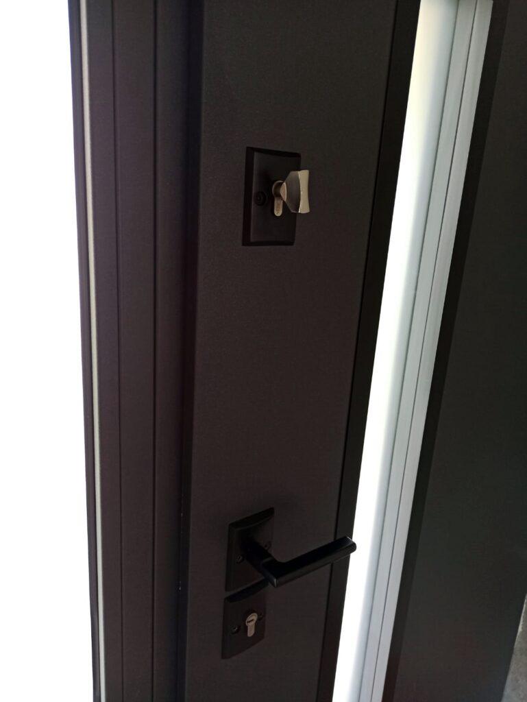 Klamka do drzwi zewnętrznych antywłamaniowych Delta - FHU Tokarczyk Małopolska