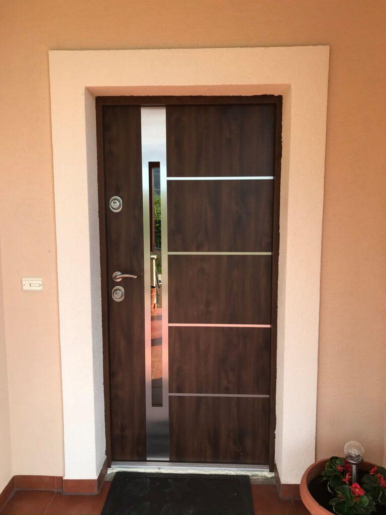 Drzwi wejściowe Delta Inox - FHU Tokarczyk Małopolska