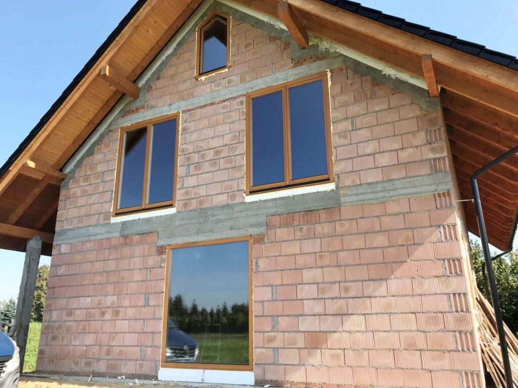 Okna drewniane nietypowe na zamówienie - FHU Tokarczyk Małopolska